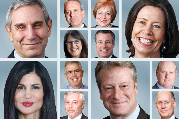 Leaders of the top PR agencies from PRWeek's 2014 Agency Business Report
