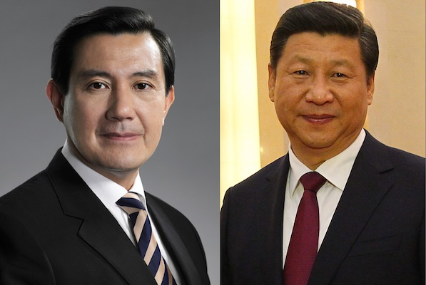 Ma Ying-jeou and Xi Jinping (PresidenciaRD/Flickr & Antilong/Wikimedia Commons)