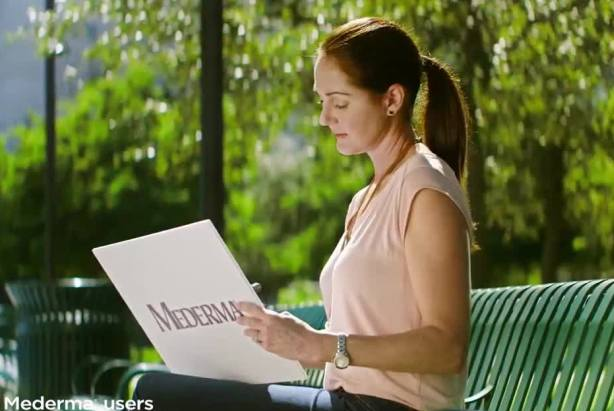Mederma TV spot (via YouTube)
