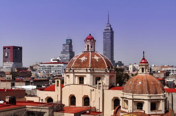 Downton Mexico City.