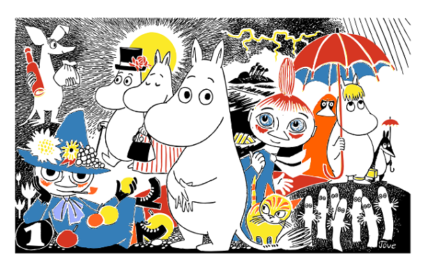 The Moomins now have PR support (©Moomin Characters TM)