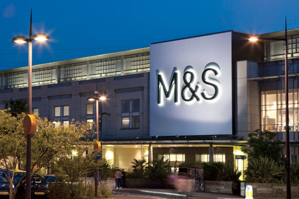 The M&S store at the Bluewater centre in Kent