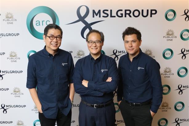 L-R: Songkran Sethesompobe, Glenn Osaki, and Karl Kongkham