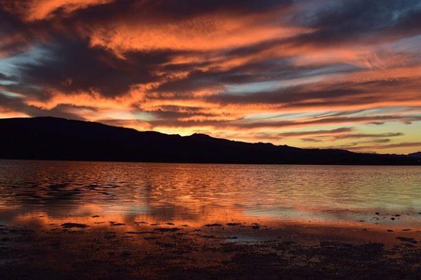Pahranagat National Wildlife Refuge's Lower Lake. (Image via Travel Nevada's Facebook page).