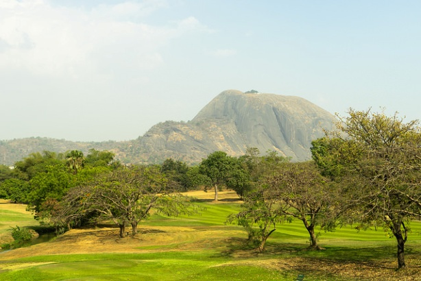 Aso Rock, on the outskirts of Nigeria's capital city, Abuja (copyright: Flickr)