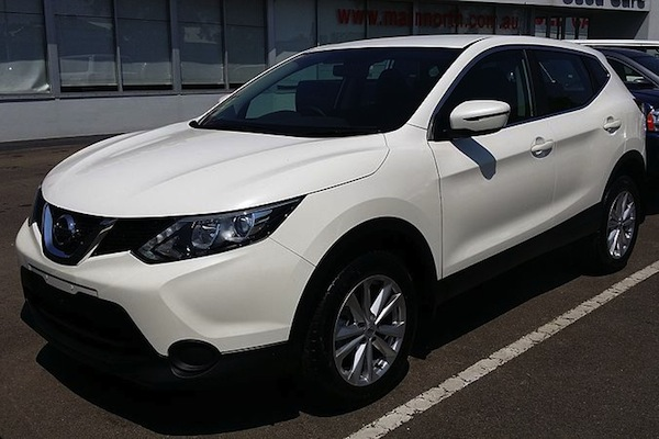 The Nissan Qashqai. Korean authorities say the diesel model was fitted with a 'defeat device'. (Turbo_J/Wikimedia Commons)