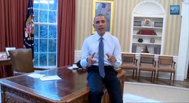 The White House released a preview of the president's immigration address on social media