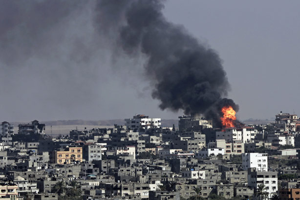 Gaza: the focus of conflict with Israel (Photo: AP/Adel Hana)