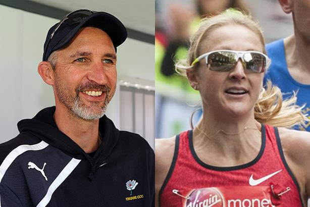 Sponsor critics: Jason Gillespie and Paula Radcliffe (Credits: Harry Trump/JMP/Rex_Shutterstock, Stephen Chung/LNP/REX/Shutterstock)