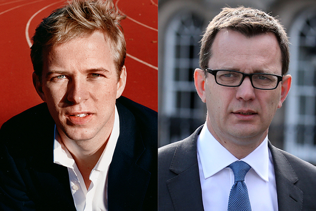 New agency: Henry Chappell and Andy Coulson (Andrew Milligan/PA Wire/Press Association Images)