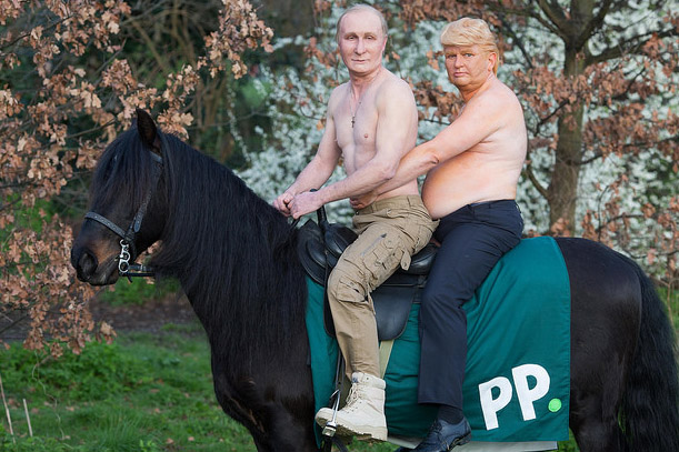 Place your bets: Paddy Power transforms actors into presidents Trump and Putin