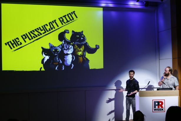 Cow PR explain why #ThePussycatRiot was such a success