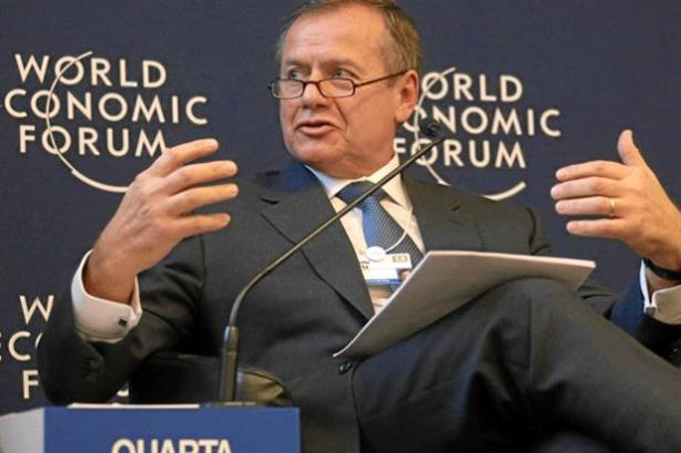 Roberto Quarta to join WPP as chairman (photo credit: World Economic Forum)