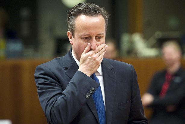 Cameron: Reportedly wants pro-EU businesses to keep schtum (Credit: ZUMA/REX Shutterstock)