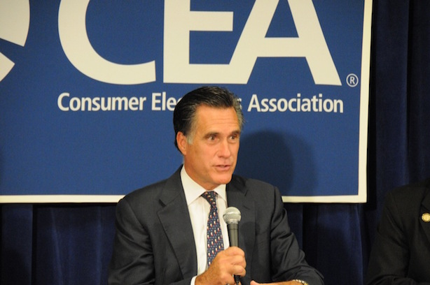 Mitt Romney will make establishment Republicans' case against Donald Trump on Thursday. (Image via Wikimedia Commons).