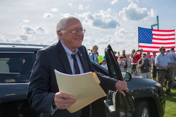 Bernie Sanders will outline a path forward for supporters on Thursday night. (Image via the Sanders campaign's Facebook page).