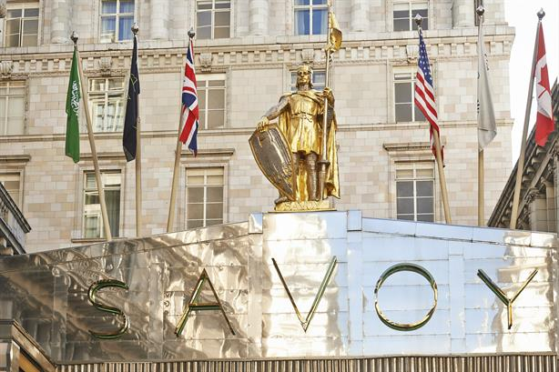 The Savoy, London: part of AccorHotel's luxury portfolio