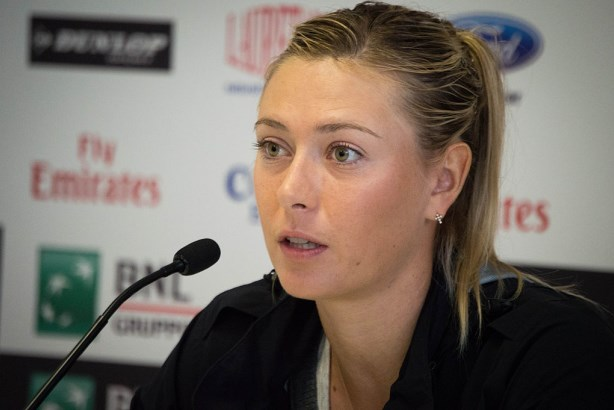 Maria Sharapova in 2014. Image via Valentina Alemanno / Wikimedia Commons; Used under the Creative Commons Attribution 2.0 Generic license