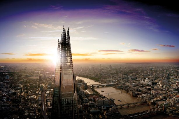 The View from The Shard: Now one of London's top tourist attractions