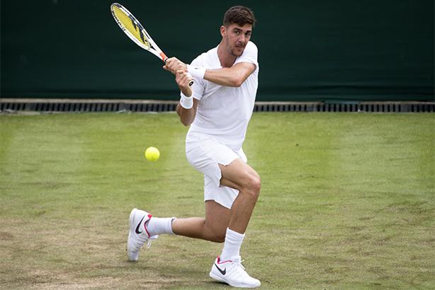 Thanasi Kokkinakis, nicknamed Special K, at Wimbledon last week (pic credit: Mike Frey/BPI/Shutterstock/REX/Shutterstock)