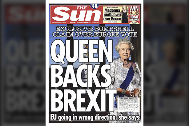 Hold the front page: Will The Sun story impact the EU campaigns?