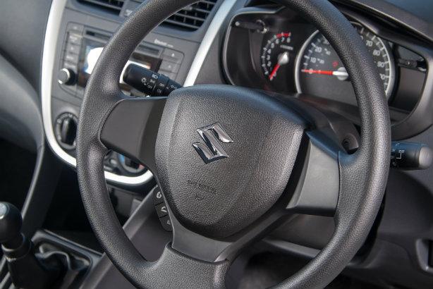 The interior of a Suzuki Celerio