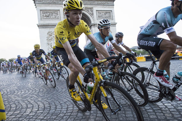 Publicity opportunity: An estimated global audience of 3.5bn tune in to The Tour de France