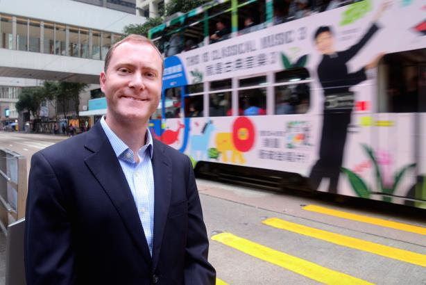 Twitter Hong Kong office leader Peter Greenberger
