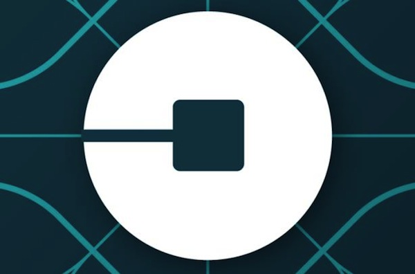 Uber's new logo, which has not gone down well in the Twittosphere