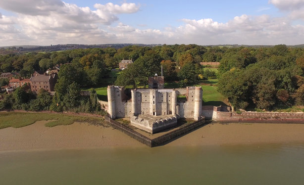 Upnor Castle: The fort used to protect Chatham Dockyard and ships of the Royal Navy anchored in the Medway (Pic credit: Medway Council)