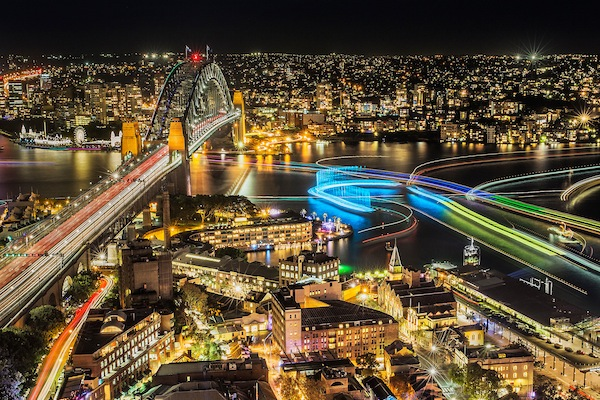 The Vivid Sydney festival 2015 (Vivid Sydney)
