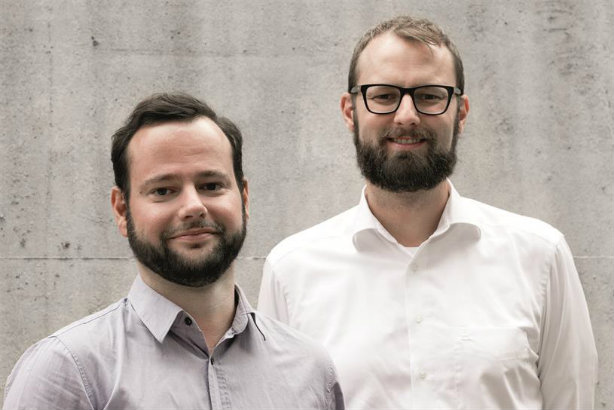 We Are Social: Christopher Schmidt (left) and Bastian Scherbeck