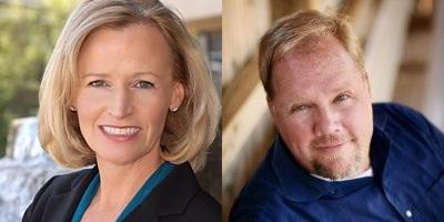 L-R: Jeannette Bitz and Richard Williams