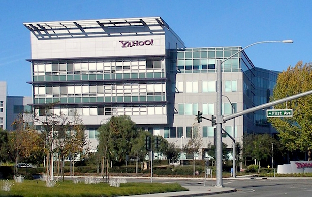 Yahoo HQ (Image via Wikimedia Commons).