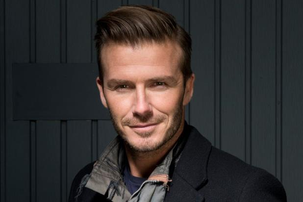 David Beckham: supports Sainsbury's Active Kids campaign