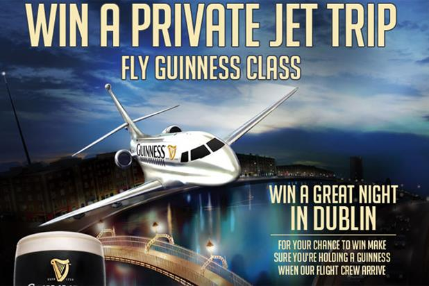 Guinness: brewer offers trip to Dublin as part of digital campaign