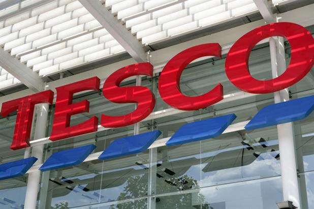 Tesco: losing ground