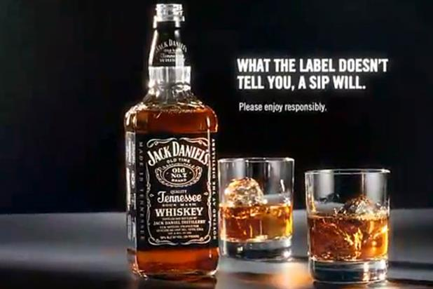 Still from Jack Daniels ad