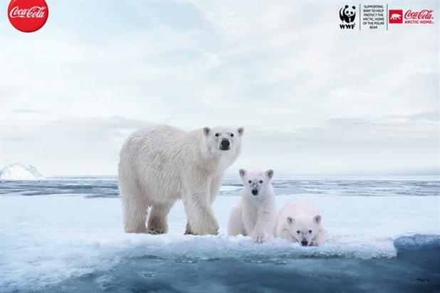 Coca Cola: partnering with the WWF