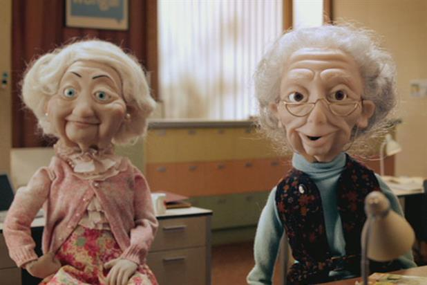 Wonga: the 'wongies' star in the brand's TV ad by Albion