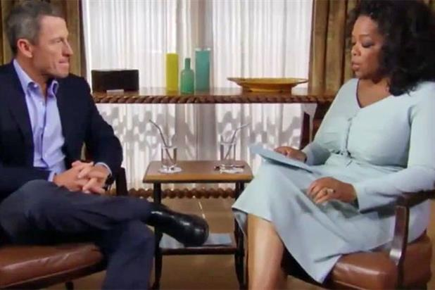 Lance Armstrong: disgraced cyclist is interviewed by Oprah Winfrey