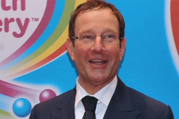 Richard Desmond: launched the Health Lottery in October last year