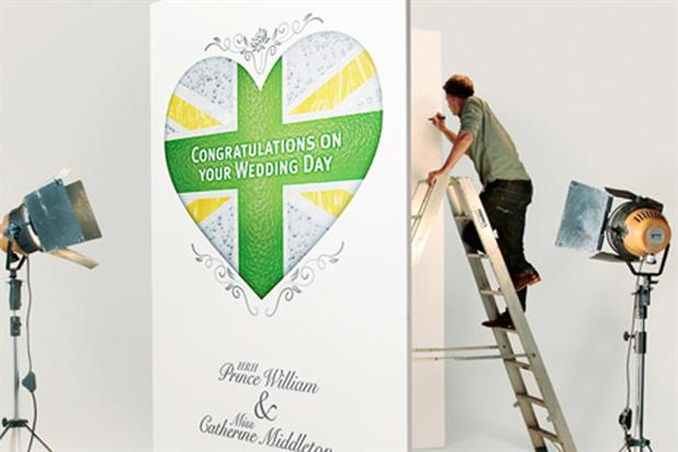 Schweppes: launches Royal Wedding card campaign on Facebook