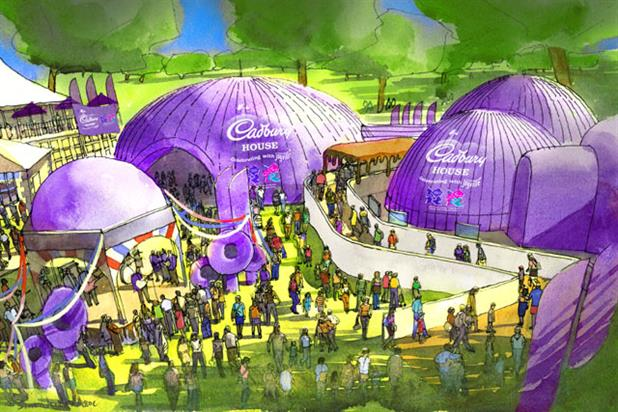 Cadbury's Olympic House: an impression of the interactive experience in Hyde Park