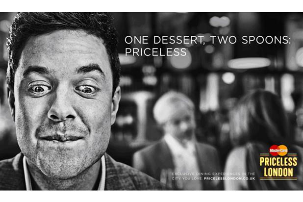 MasterCard: new Priceless London ads