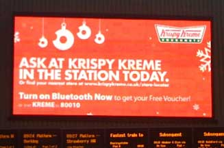Krispy Kreme plots UK ad debut
