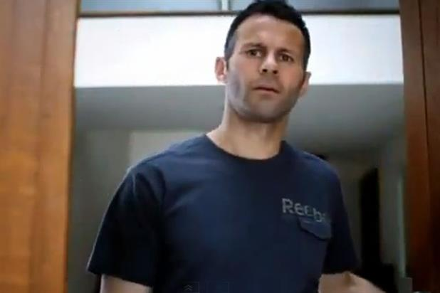 Ryan Giggs: in 2009 Reebok campaign