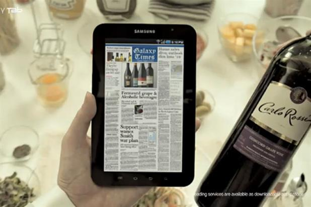 Samsung Galaxy Tab: brand wins Apple battle