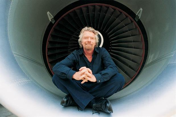 Sir Richard Branson: president of Virgin Atlantic