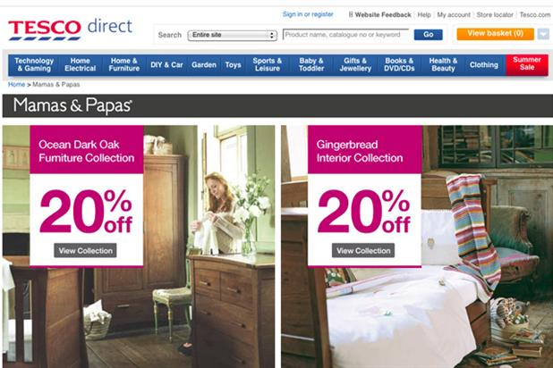 Tesco Marketplace: launch ads postponed